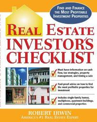 Real Estate Investor's Checklist