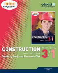BTEC Entry 3/Level 1 Construction Teaching Book and Resource Disk
