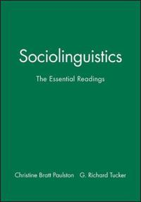 Sociolinguistics: The Essentials Readings