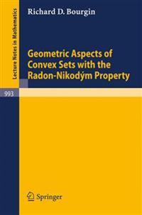 Geometric Aspects of Convex Sets with the Radon-Nikodym Property