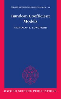 Random Coefficient Models