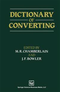 Dictionary of Converting