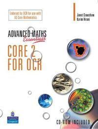 Level Maths Essentials Core 2 for OCR Book and CD-ROM - Janet Crawshaw  Karim Hirani - böcker (9780582836525)     Bokhandel