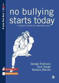 No Bullying Starts Today