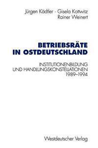 Betriebsrate in Ostdeutschland