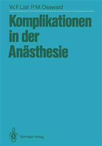 Komplikationen in der Anasthesie