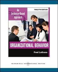 Organizational Behavior (Int'l Ed)
