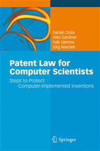 Patent Law for Computer Scientists