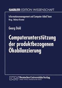 Computerunterstützung Der Produktbezogenen Ökobilanzierung