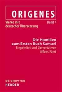 Die Homilien Zum Ersten Buch Samuel