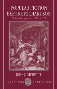 Popular Fiction Before Richardson