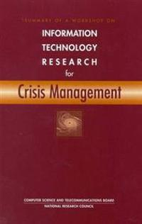 Information Technology Research for Crisis Management