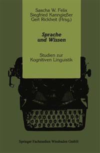 Sprache Und Wissen