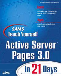 Sams Teach Yourself Active Server Pages 3.0 in 21 Days