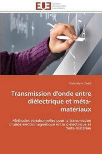 Transmission d'Onde Entre Di�lectrique Et M�ta-Mat�riaux
