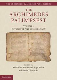 The Archimedes Palimpsest Publications