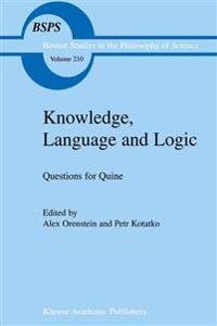 Knowledge, Language, and Logic