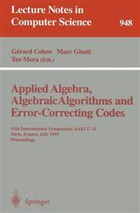 Applied Algebra, Algebraic Algorithms and Error-Correcting Codes