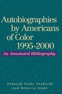 Autobiographies by Americans of Color