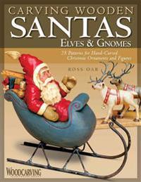 Carving Wooden Santas