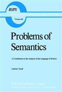 Problems of Semantics