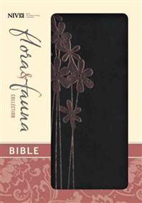Flora and Fauna Collection Bible-NIV-Pink Flower