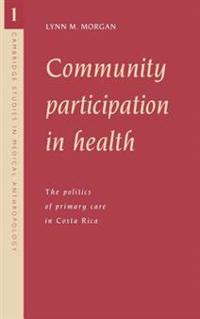 Community Participation in Health