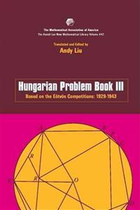 Hungarian Problem Book III