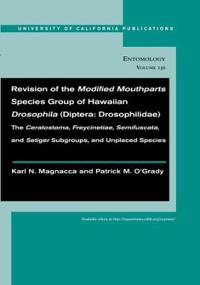 Revision of the Modified Mouthparts Species Group of Hawaiian Drosophila Diptera: Drosophilidae