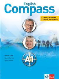 English Compass A1 - Student's Book mit 2 Audio-CD/CD-ROMs