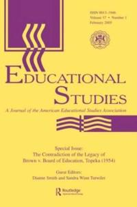 The Contradictions of the Legacy of Brown V. Board of Education, Topeka 1954