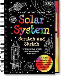 Solar System Scratch and Sketch
