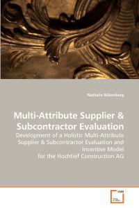 Multi-Attribute Supplier