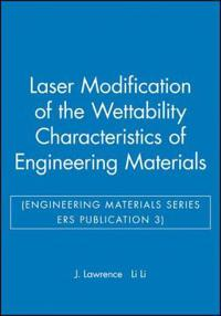 Laser Modification of the Wettability Characteristics of Engineering Materials