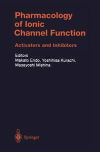 Pharmacology of Ionic Channel Function: Activators and Inhibitors
