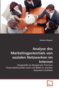Analyse Des Marketingpotentials Von Sozialen Netzwerken Im Internet