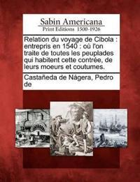 Relation Du Voyage de Cibola