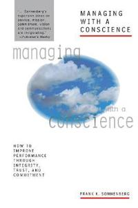 Managing with a Conscience