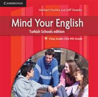 Mind Your English 9th Grade Class Audio Cds (3) Turkish Schools Edition
