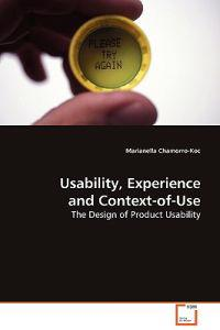 Usability, Experience and Context-of-use