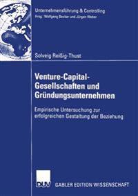 Venture-Capital-Gesellschaften Und Grundungsunternehmen