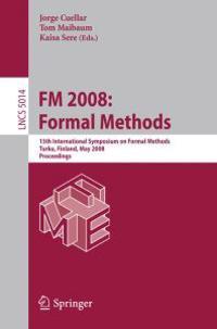 FM 2008 - Formal Methods
