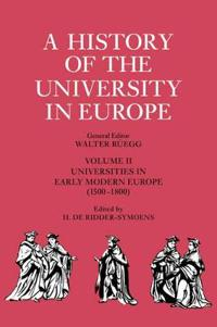 Universities in Early Modern Europe (1500-1800)