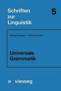 Universale Grammatik