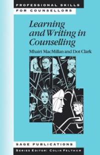 Learning and Writing in Counselling
