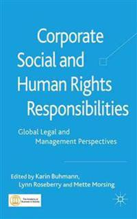 Corporate Social and Human Rights Responsibilities
