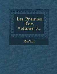 Les Prairies D'or, Volume 3...