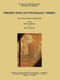 Perspectives on Ptolemaic Thebes