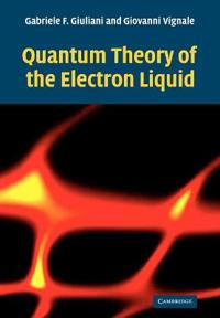 Quantum Theory Of The Electron Liquid