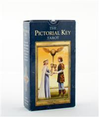 Pictorial key tarot - card deck and tarot bag set